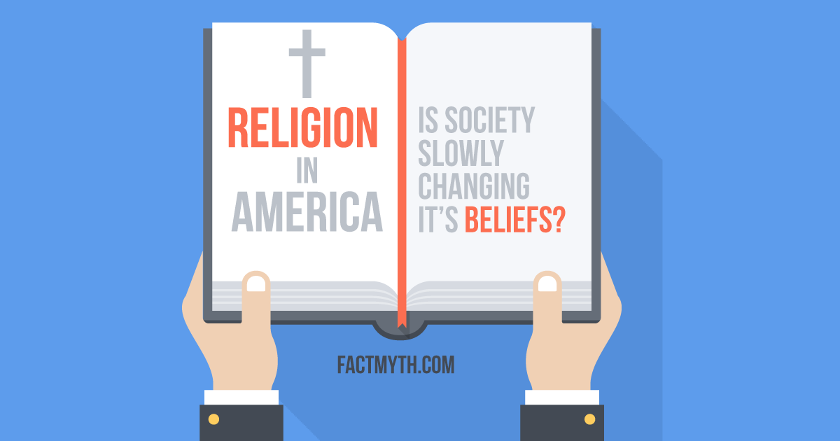Do Americans Commonly Stay With the Religion They Were Raised With?