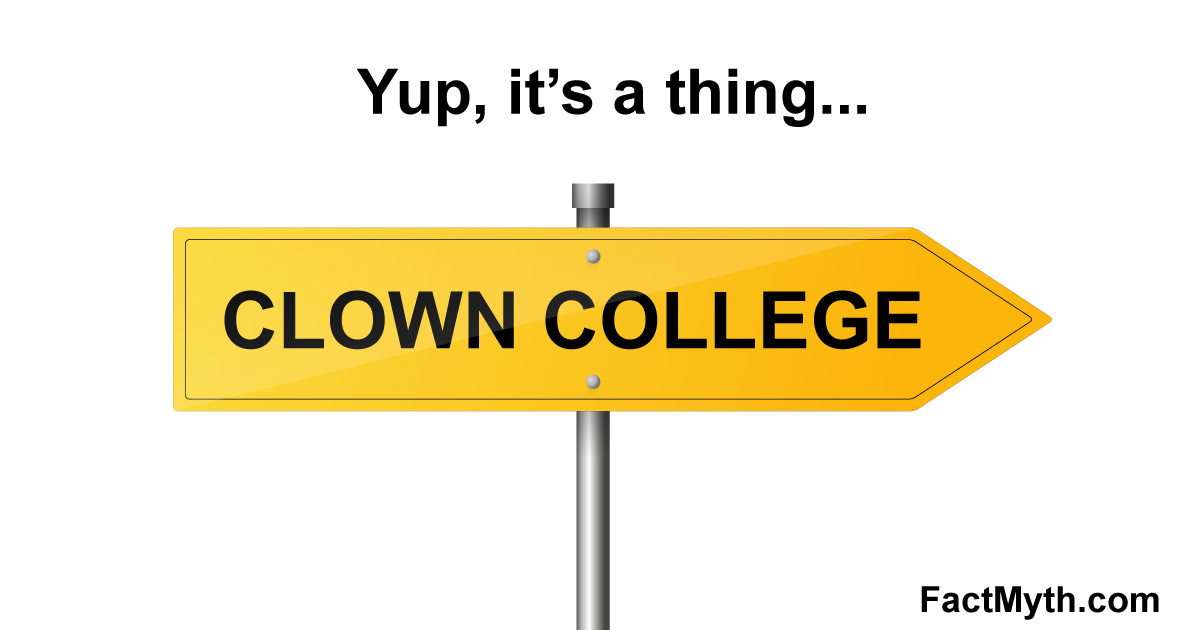 Clown College is Real