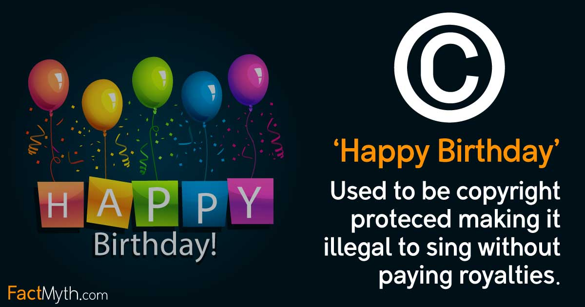 Happy Birthday Was Copyright Protected