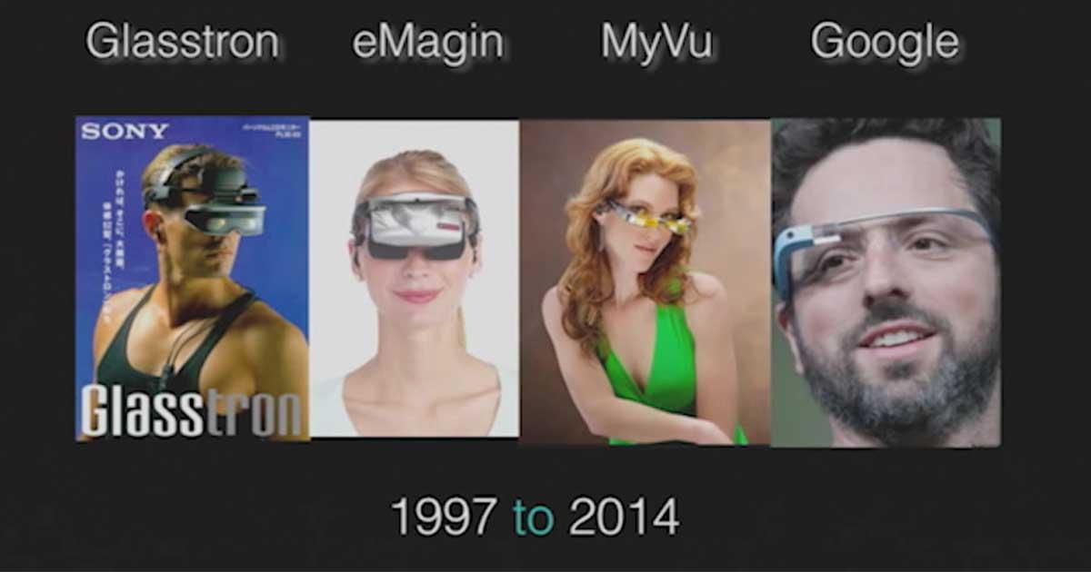 Smart Glass Timeline