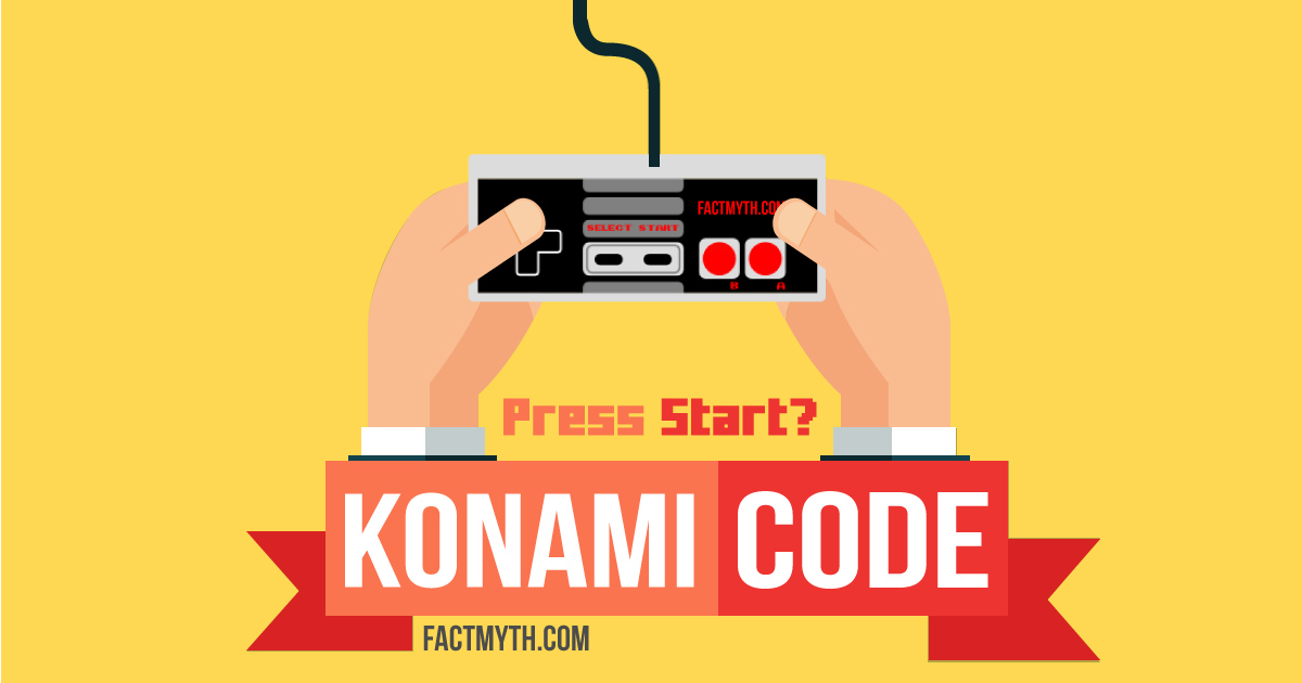 Does the Konami Code End in Start or Select Start?