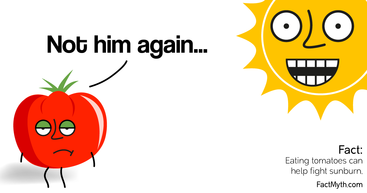 Can Tomatoes Act as a Sunscreen?
