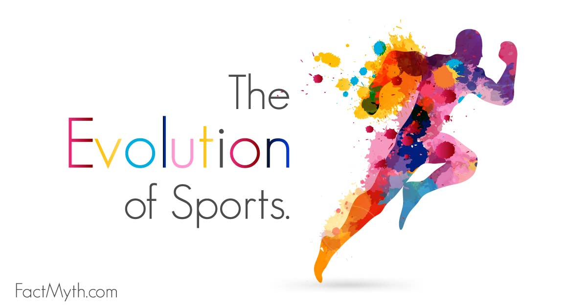 the evolution of sports essay Free essay: the sports of today have changed the way the players play the game starting on the professional sports level, bad sportsmanship behaviors, like.