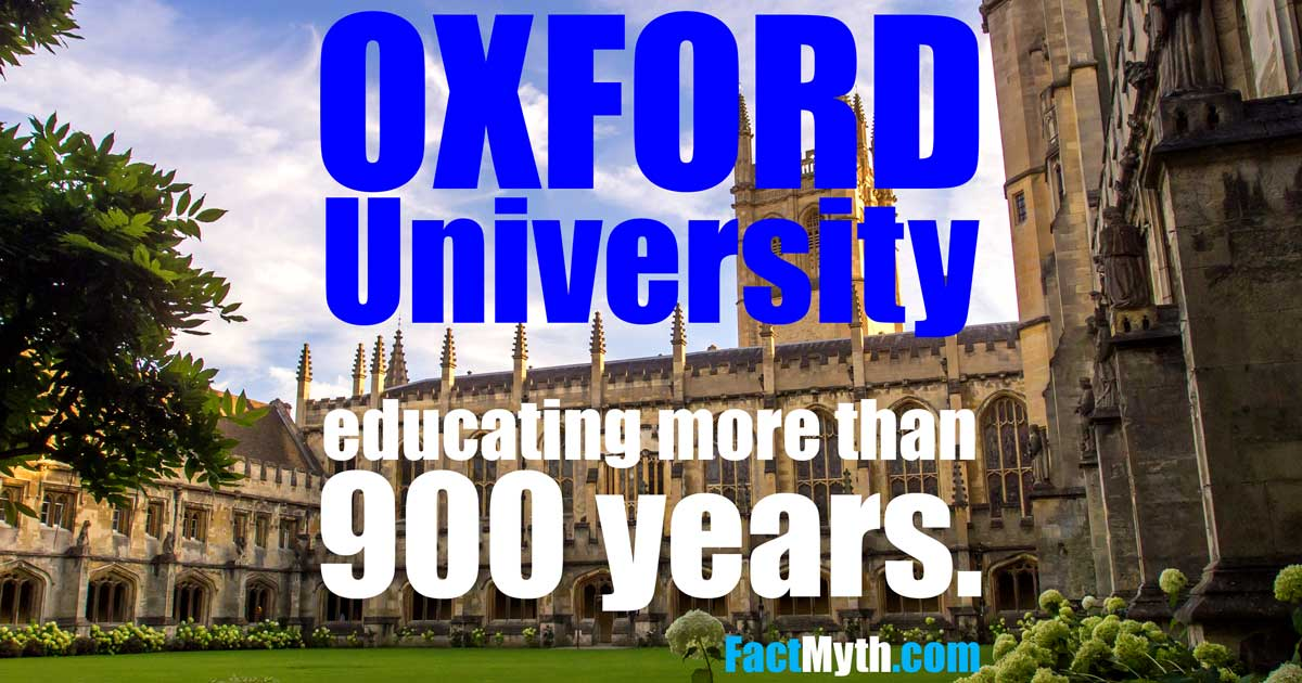 Is Oxford Oxford University Older Than Aztec Civilization?