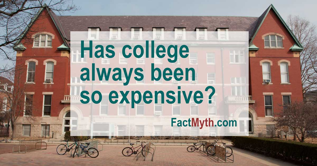 Have US Universities Always Charged Tuition?