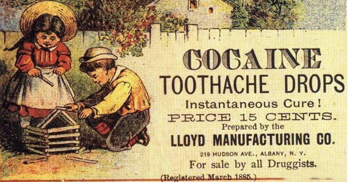 Coca-Cola Used to Have Cocaine in It