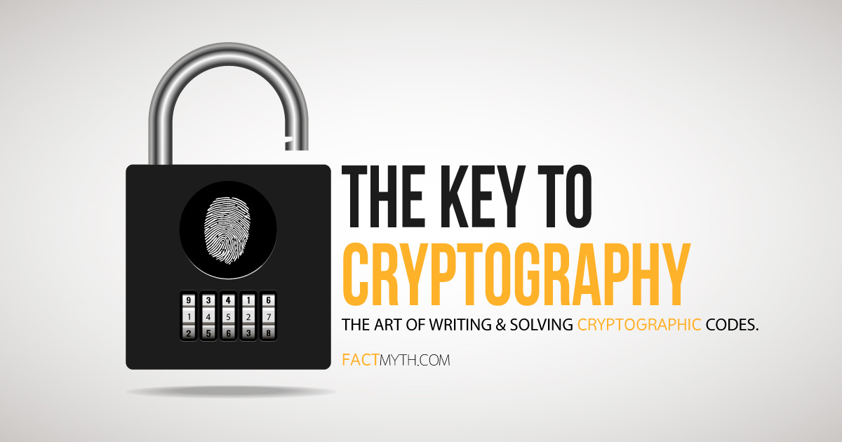 Cryptography is writing and solving codes