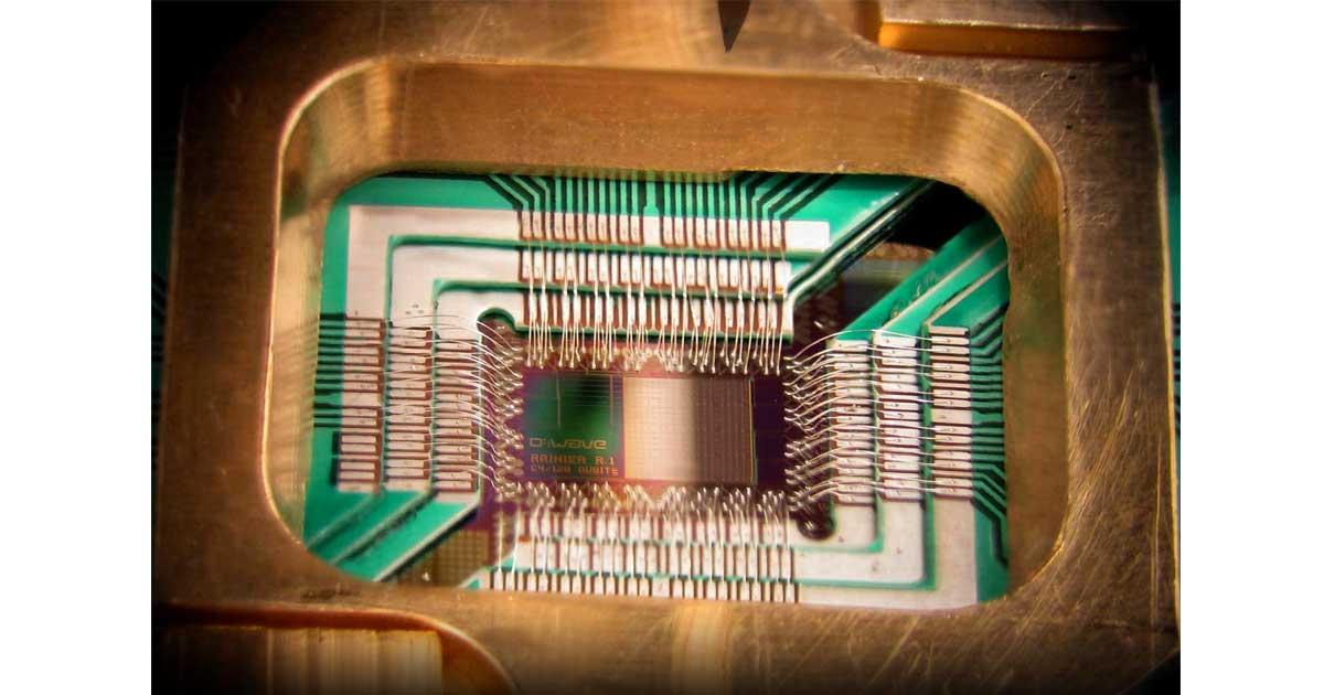 A quantum chip