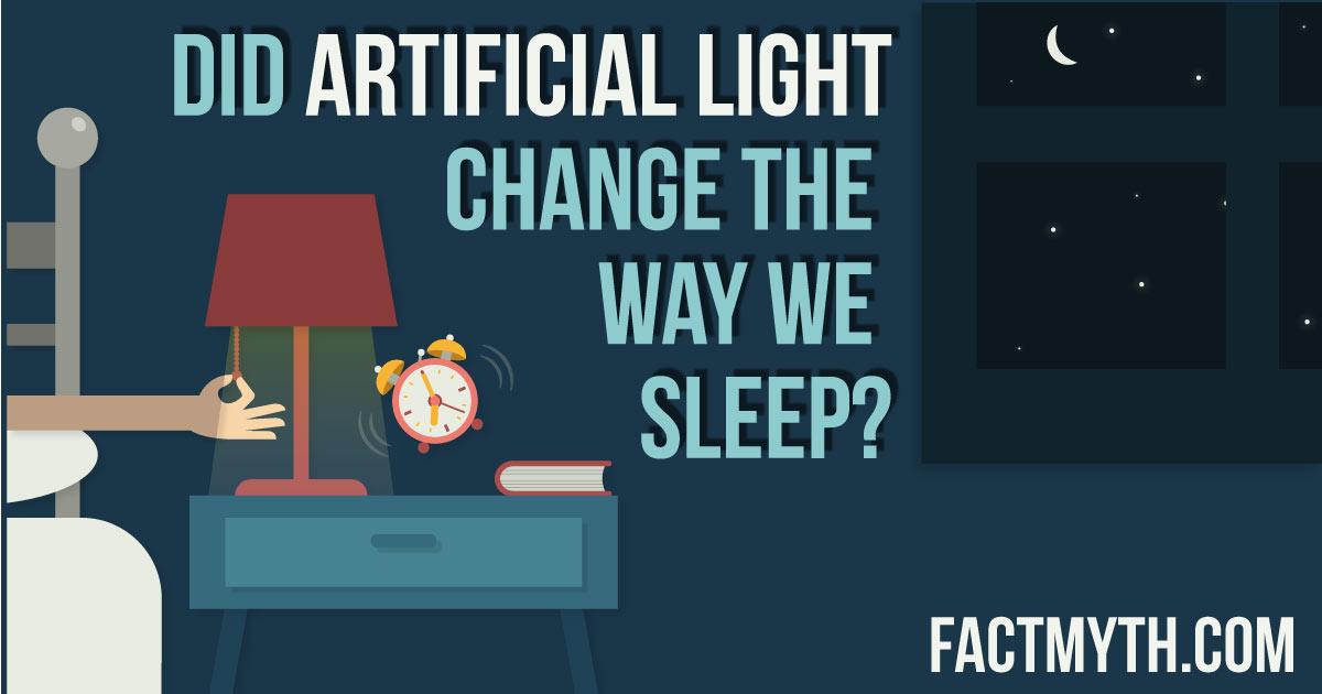 Did people always sleep through the night?