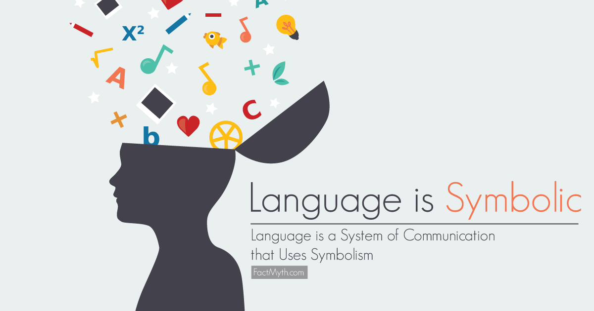 Language is a System of Communication that Uses Symbolism