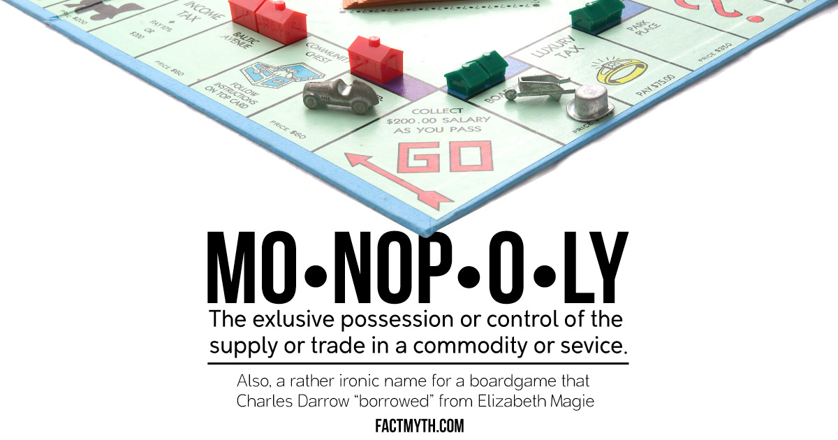 Was Monopoly Invented by Charles Darrow?
