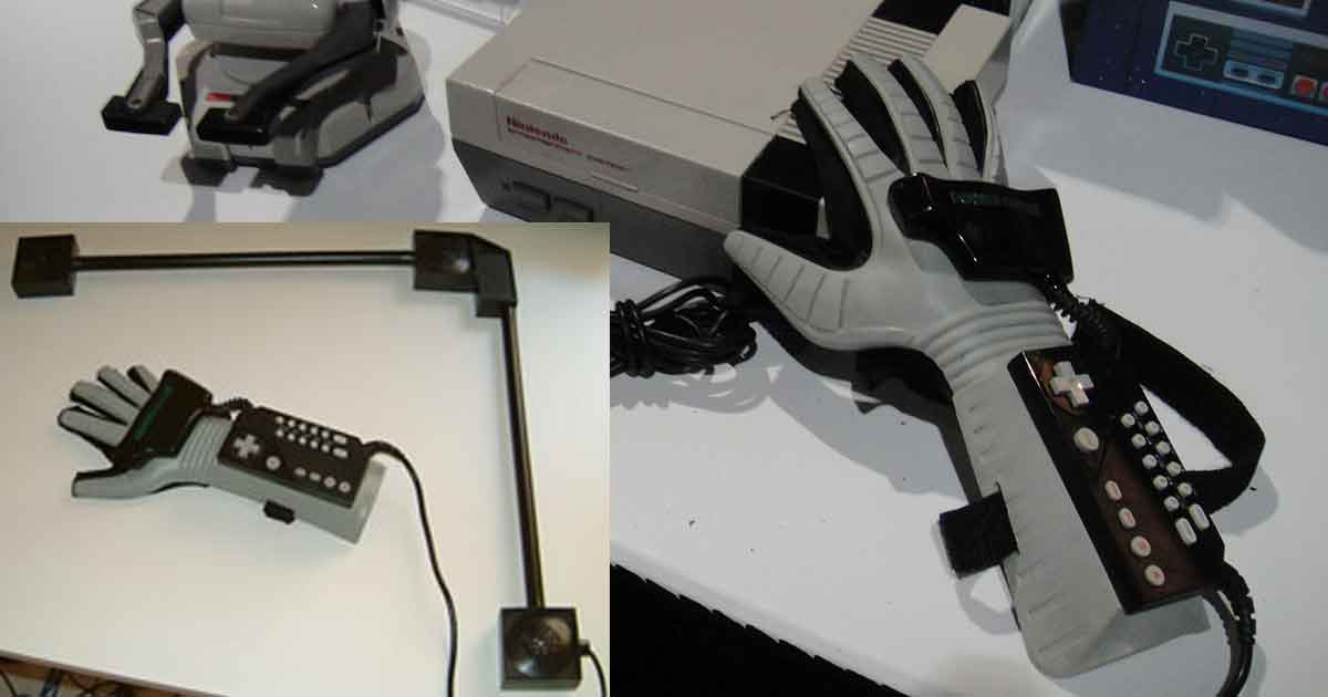 The Power Glove Was the First Gesture-Based Game Controller