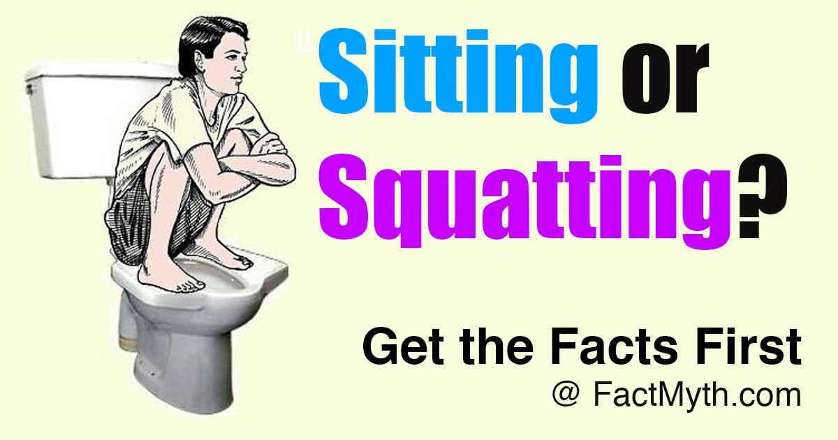Sitting or Squatting