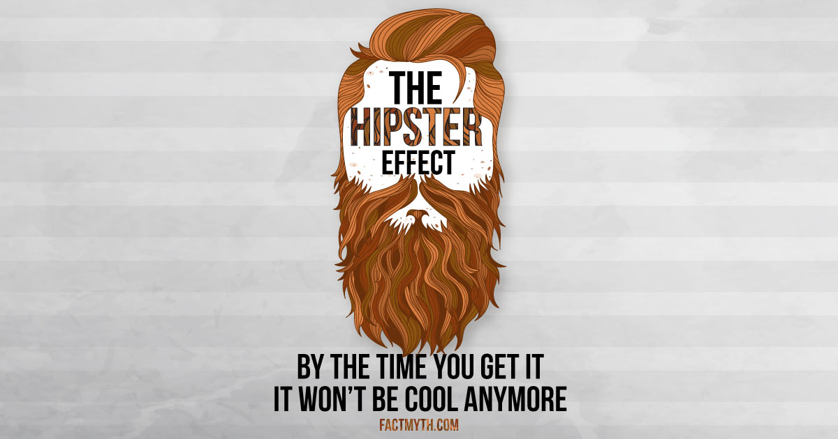 The Hipster Effect Results in Anticonformists Looking the Same