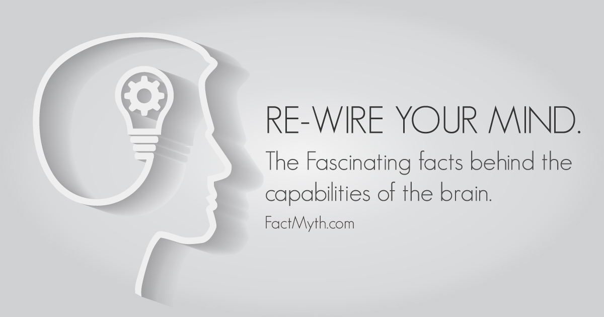 Thoughts can rewire your brain.