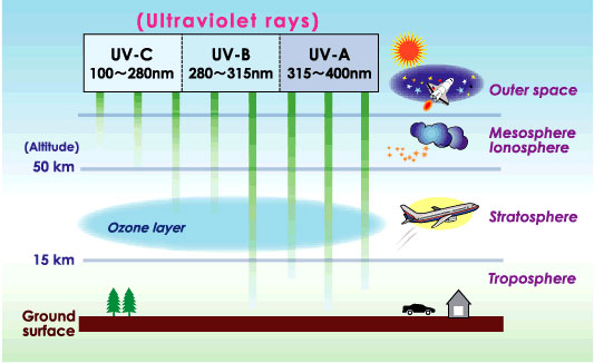 Types of UV Rays