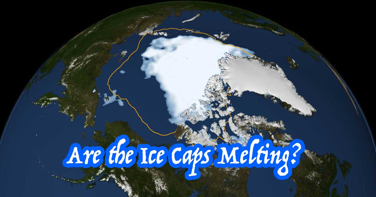 Are the ice caps melting?