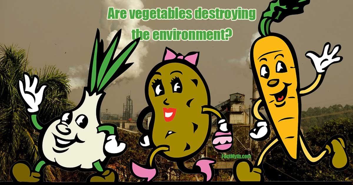 Are Vegetables Destroying the Environment?