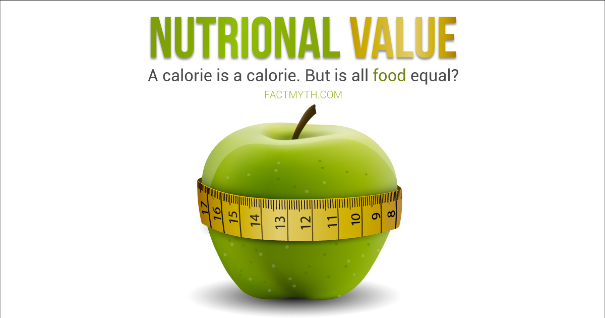 Are Calories on the Label Equal Calories Stored?
