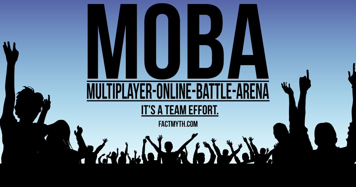 MOBA Means Multiplayer Online Battle Arena