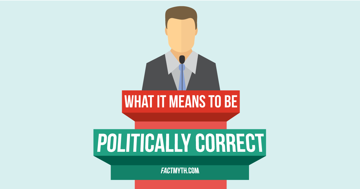 """Politically Correct"" is a Buzzword"