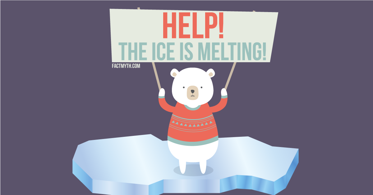 The Polar Ice Caps are Melting