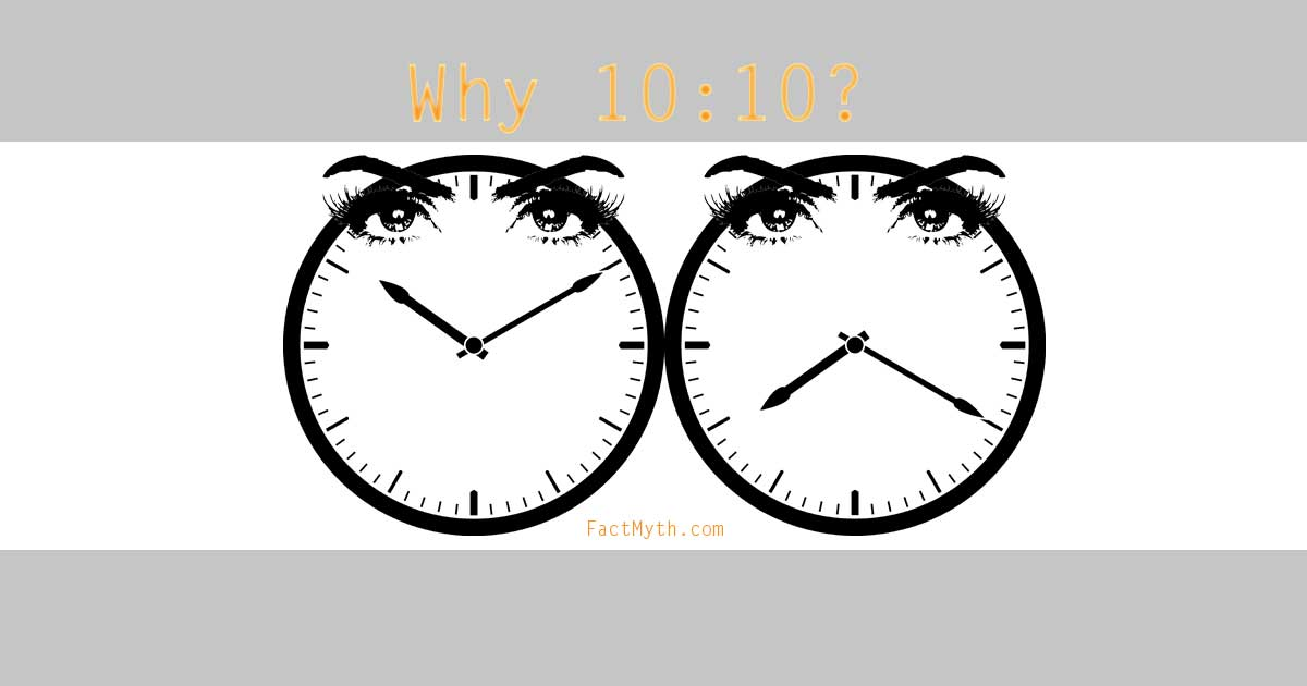 Why 10:10?