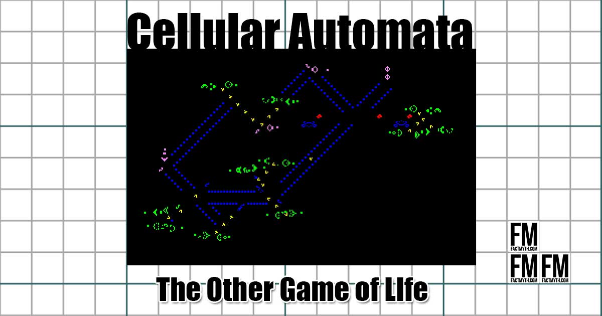 The Game of Life - a cellular automaton
