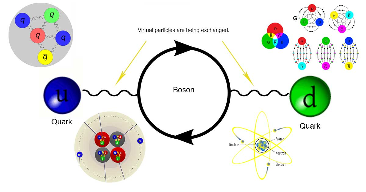 How quarks interact