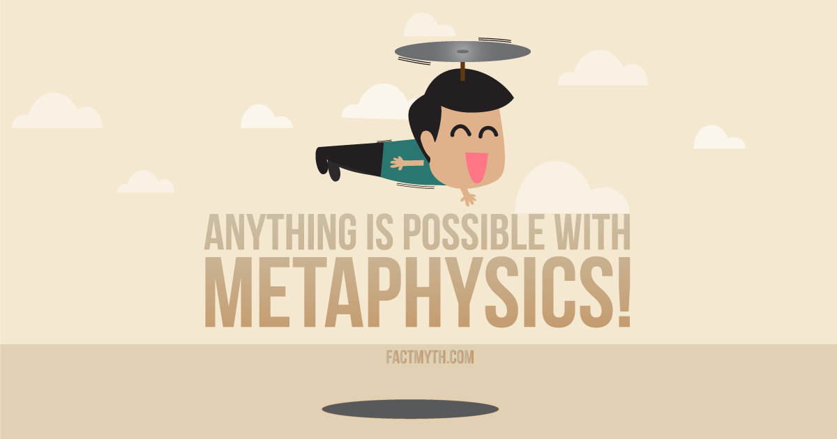Physics is Different than Metaphysics
