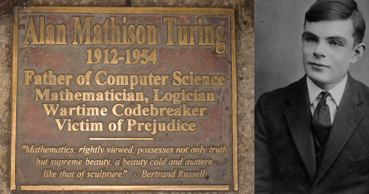 Alan Turing is the Father of Computer Science and AI