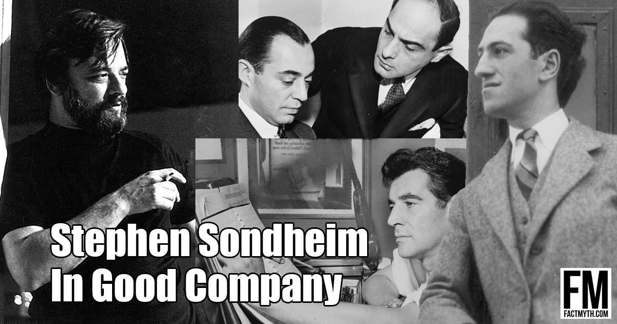Who is Stephen Sondheim?