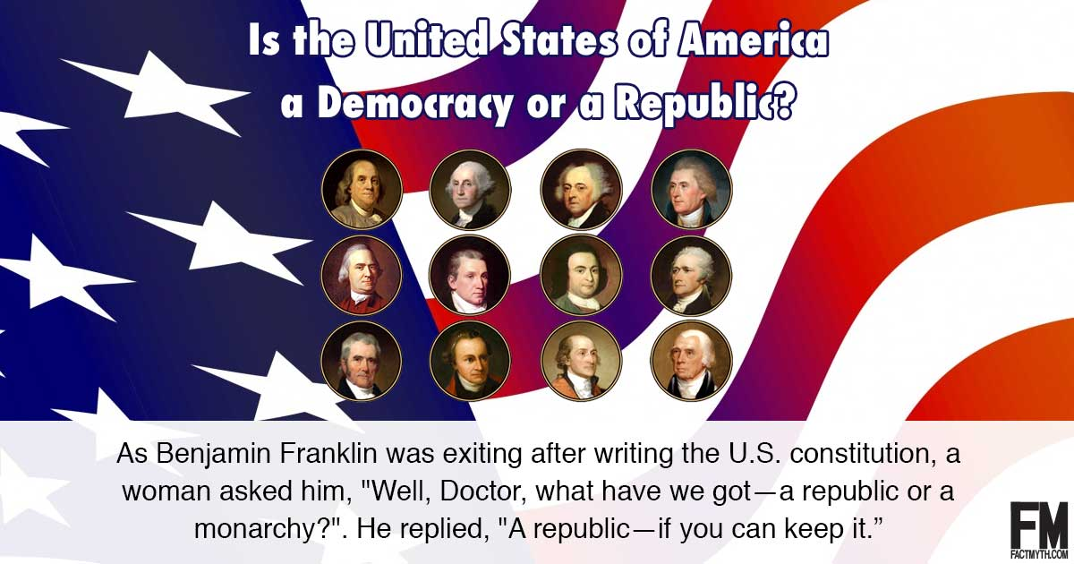 Is America a Republic or a Democracy?