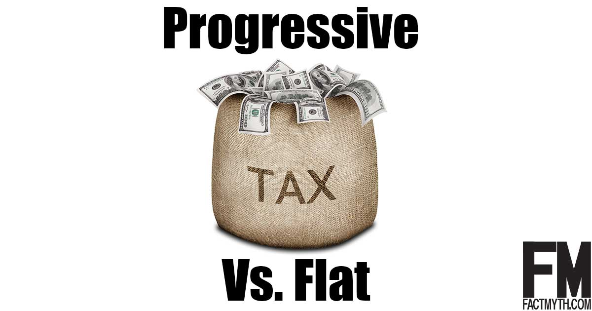 Progressive tax vs flat tax