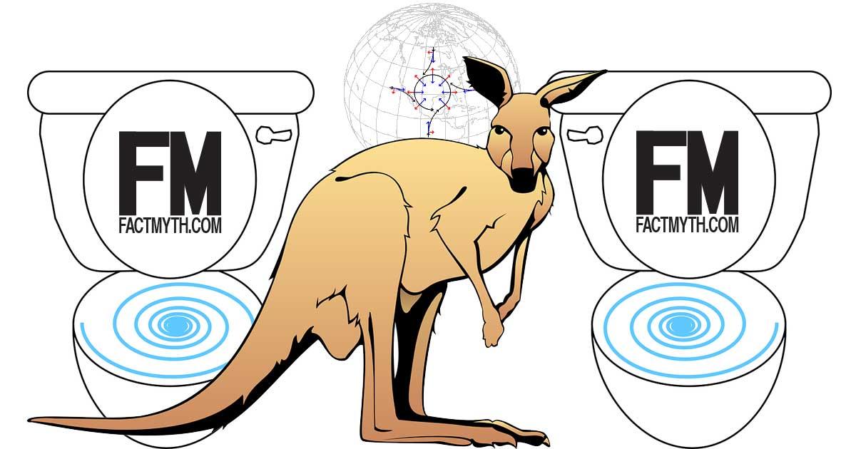 Do Toilets Flush Backwards in Australia?