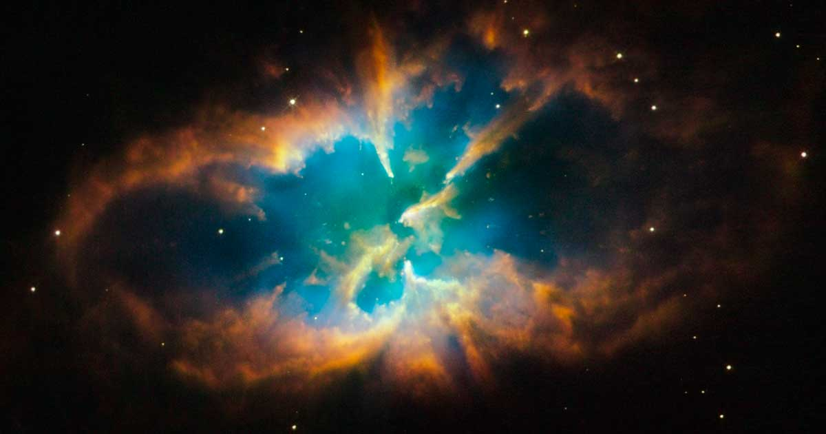 Real images taken by hubble telescope