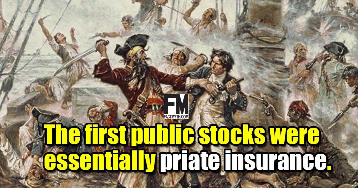 Pirate insurance