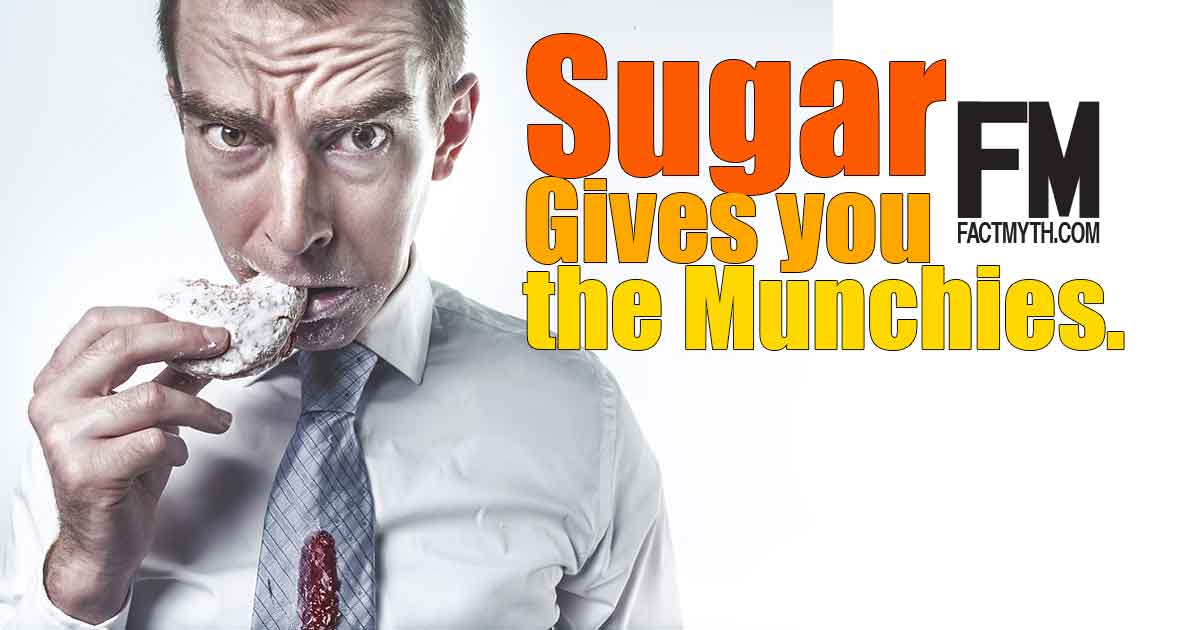 Sugar Gives you the Munchies