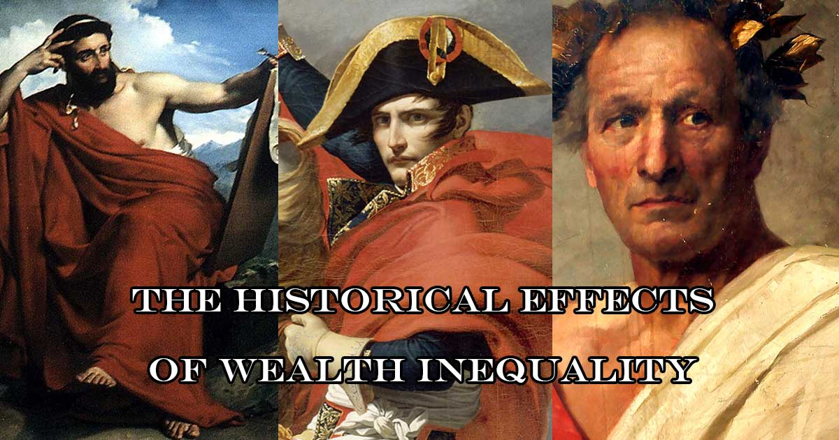 The historical effects of wealth inequality