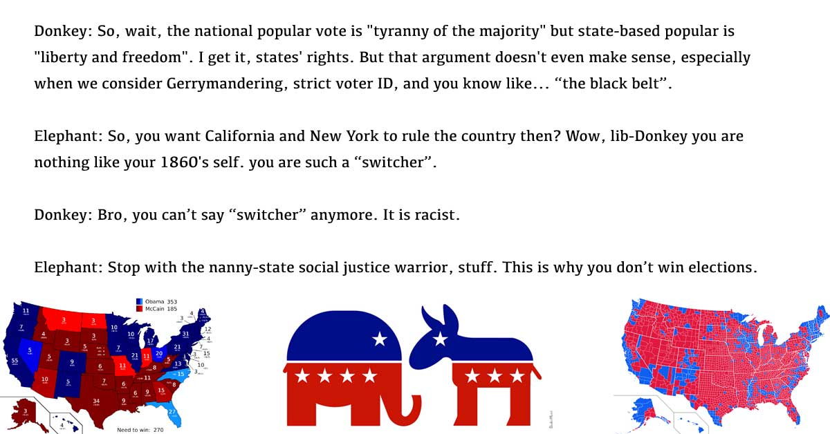 the electoral college is meant protect minority voting interests and
