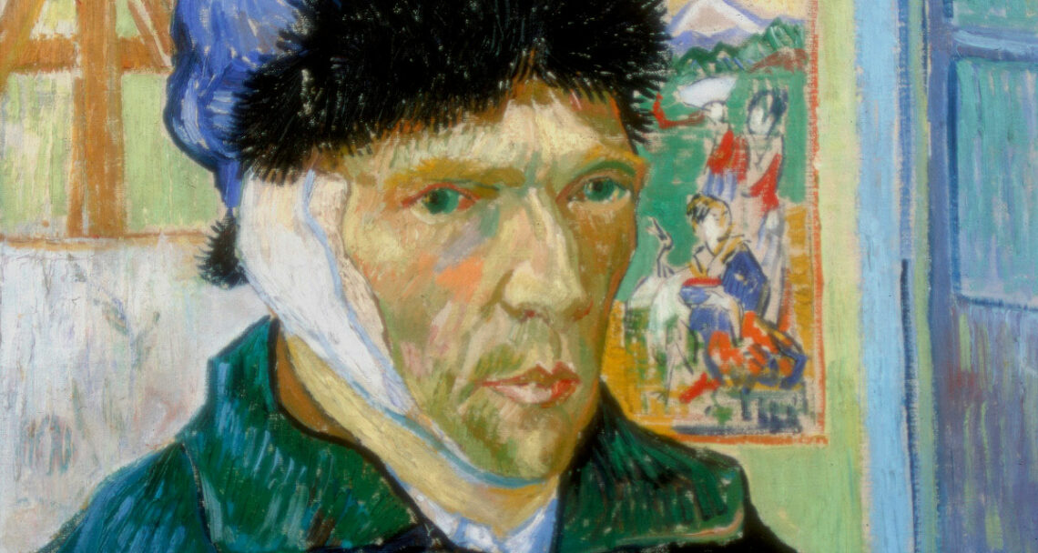 van Gogh ear painting
