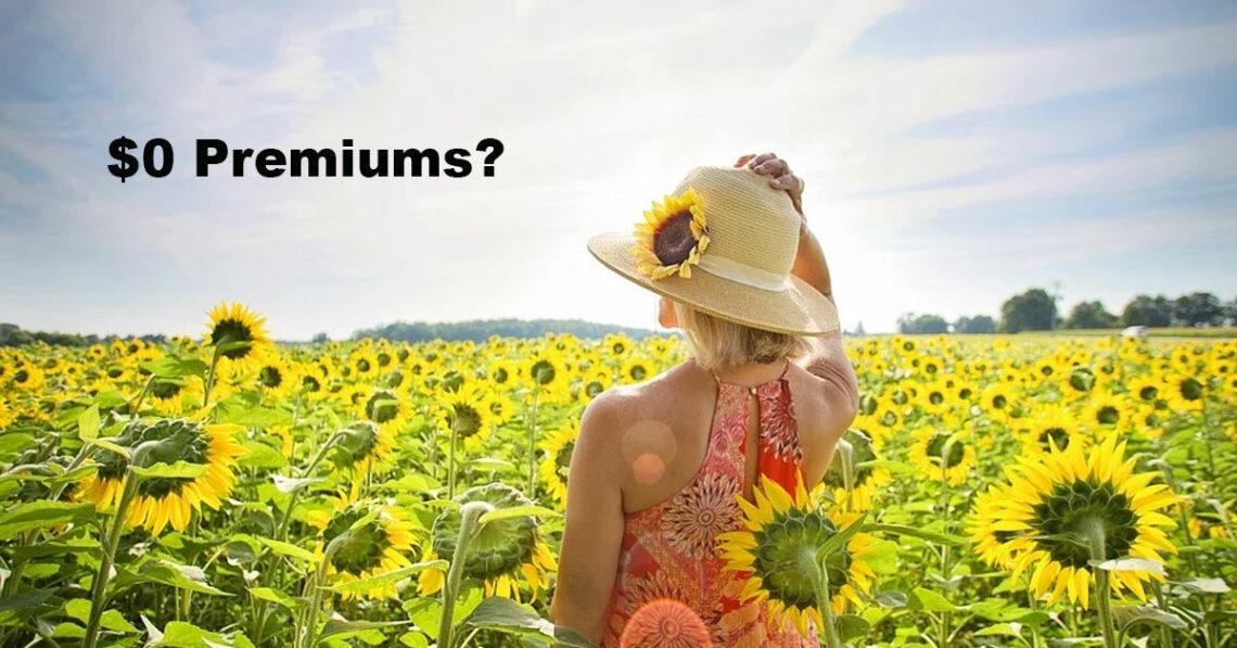 Zero Dollar Premiums Medicare image.